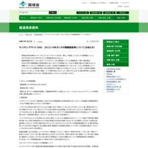 モニタリングサイト1000 2013/14年ガンカモ類調査