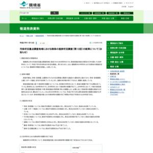汚染状況重点調査地域における除染の進捗状況調査(第13回)