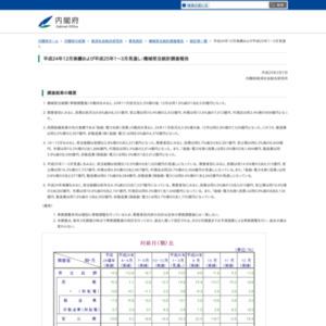 機械受注統計調査報告(平成24年12月実績および平成25年1~3月見通し)