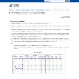 機械受注統計調査報告(平成25年6月実績および平成25年7~9月見通し)