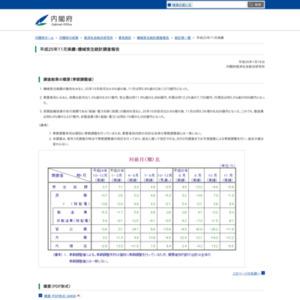 機械受注統計調査報告(平成25年11月実績)