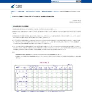 機械受注統計調査報告(平成26年9月実績および平成26年10~12月見通し)