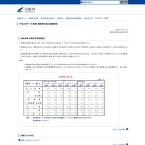 機械受注統計調査報告(平成26年11月実績)