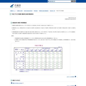 機械受注統計調査報告(平成27年2月実績)