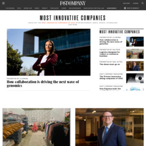 The World's Most Innovative Companies 2016