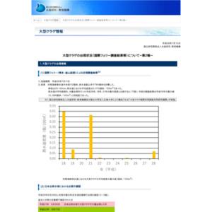 大型クラゲの出現状況(国際フェリー調査結果等)について-第2報-