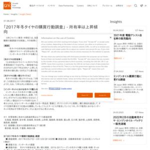 2017年冬タイヤの購買行動調査