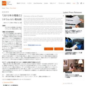 2015年の電動工具販売動向