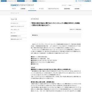 男性の身体の悩みに関するオンラインコミュニティ調査(MROC)
