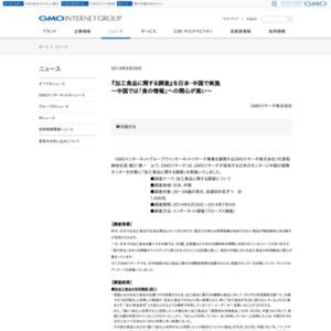 日本・中国『加工食品に関する調査』
