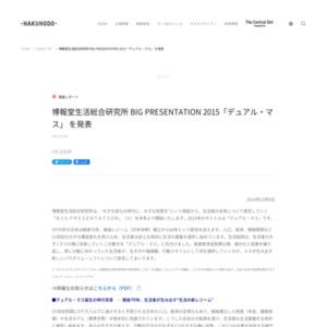 BIG PRESENTATION 2015「デュアル・マス」