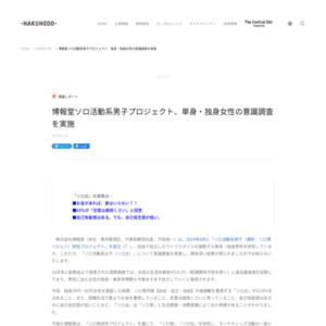 「ソロ活動系女子(ソロ女)」について意識調査