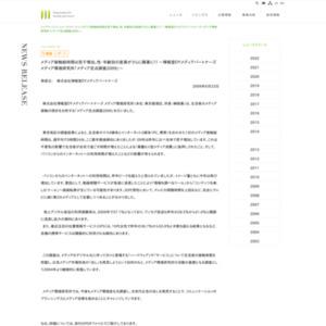 メディア定点調査2009