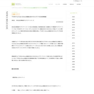TVCM×YouTube InStream動画広告のクロスメディア広告効果調査