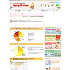 """第265回 子どもの""""アレルギー""""実態調査 2006.05.11~2006.05.17"""