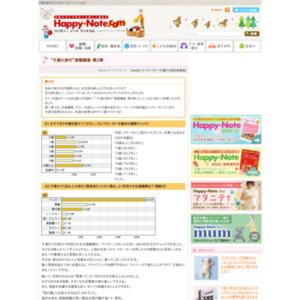 """第310回 """"子連れ旅行""""実態調査・第2弾 2007.04.05~2007.04.11"""
