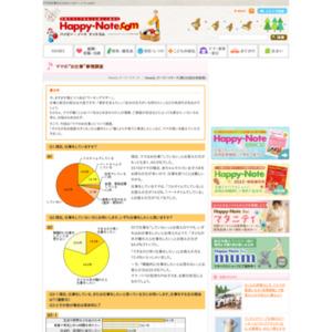 """第336回 ママの""""お仕事""""事情調査 2007.10.11~2007.10.17"""