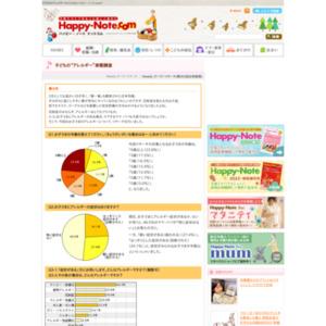 """第403回 子どもの""""アレルギー""""実態調査 2009.02.19~2009.02.25"""