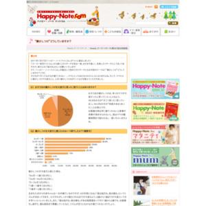"""第497回 """"寝かしつけ""""どうしていますか? 2011.02.03~2011.02.09"""
