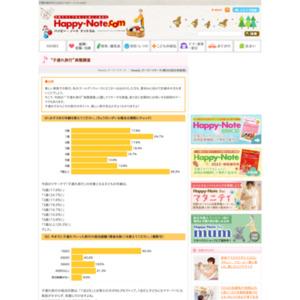 """第506回 """"子連れ旅行""""実態調査 2011.05.12~2011.05.18"""