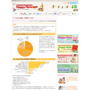第514回 子どもの日焼け、UV対策どうしてる? 2011.07.07~2011.07.13