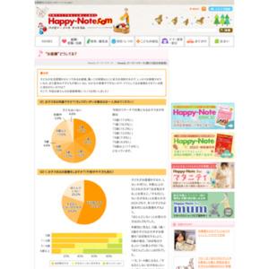 """第518回 """"お昼寝""""どうしてる? 2011.08.04~2011.08.10"""