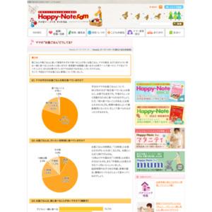 """第521回 ママの""""お昼ごはん どうしてる? 2011.09.01~2011.09.07"""
