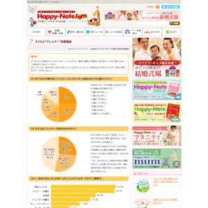 """第546回 子どもの""""アレルギー""""実態調査 2012.03.01~2012.03.07"""