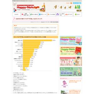 """日本中の子育てママが""""今""""欲しいものランキング"""