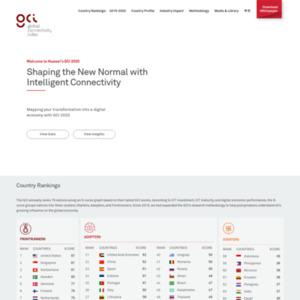 ファーウェイ世界接続性指標報告書 2017年度版(Global Connectivity Index、GCI 2017)