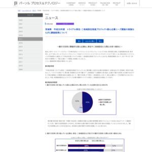茨城県 平成28年度 トライアル移住・二地域居住推進プロジェクト 都心企業ニーズ調査