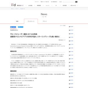 カーナビユーザー調査 2017