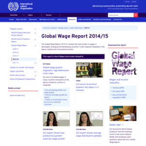 Global Wage Report 2014/15
