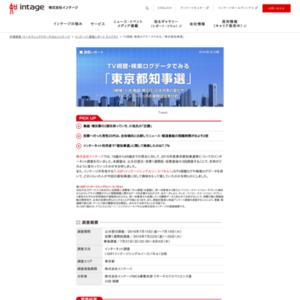 TV視聴・検索ログデータでみる、「東京都知事選」