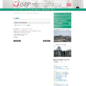 淡路震災・情報行動調査速報版