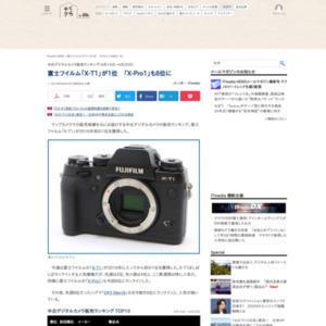 中古デジタルカメラ販売ランキング(2016年4月14日~4月20日)