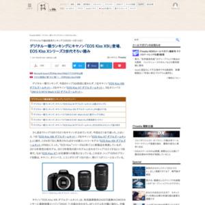 デジタルカメラ総合販売ランキング(2017年5月8日~5月14日)