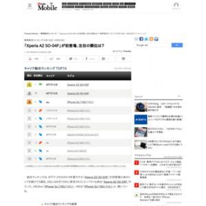 スマートフォン販売ランキング(2014年6月16日~6月22日)