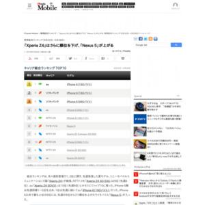 スマートフォン販売ランキング(6月22日~6月28日)