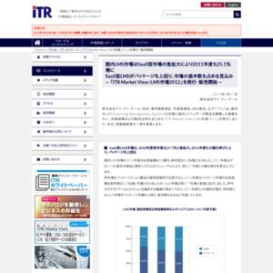 ITR Market View:LMS市場2012