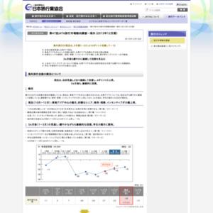 第47回JATA旅行市場動向調査~海外(2013年12月期)