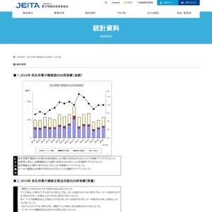 民生用電子機器国内出荷統計(2014年6月分)