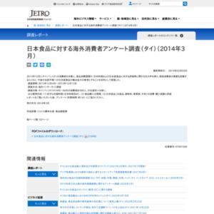 日本食品に対する海外消費者アンケート調査(タイ)