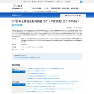 タイ日系企業進出動向調査(2014年度調査)