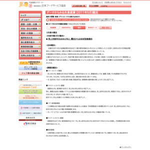 日本フードサービス協会 2011年05月市場動向調査
