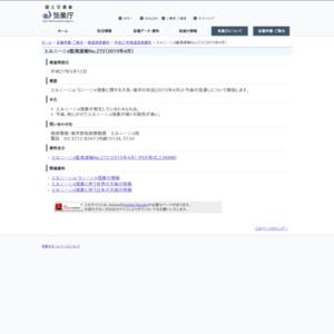 エルニーニョ監視速報No.272(2015年4月)