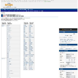 日本・日系企業の海外進出関連プレスリリース統計