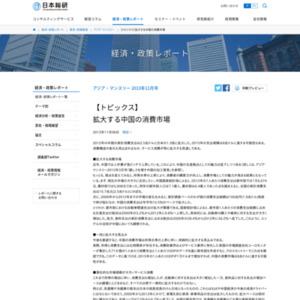 拡大する中国の消費市場