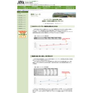 日本のキャンピングカー総保有台数は80,500台