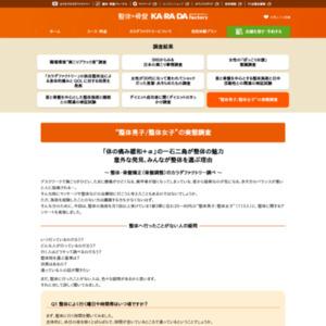 """整体男子/整体女子""の実態調査"